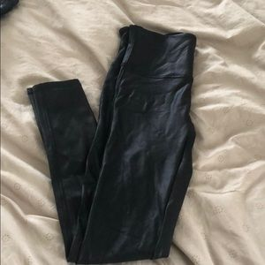 Black Spanx leggings